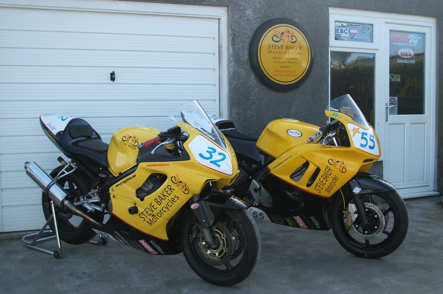 Our Track Day Bikes